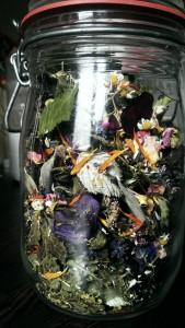 Urtethe fra Goetheanums have
